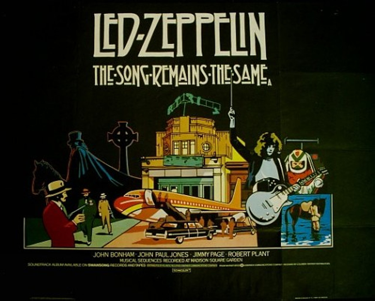 Led Zeppelin → The Song Remains The Same